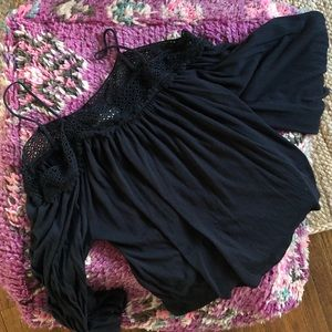 Urban Outfitters Bell Sleeve Top